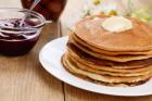 whole wheat pancakes small