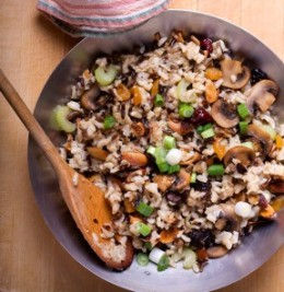 Wild Rice and Vegetables