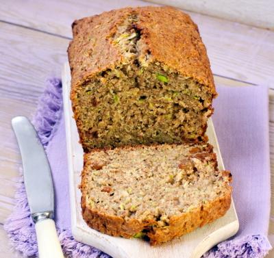 Zucchini bread image