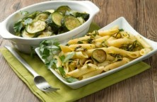 Basil and Zucchini Pasta